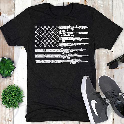 Guns and Bullets Flag