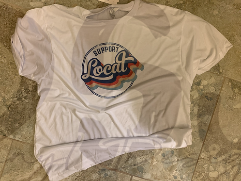 Support Local Pre-Made Short Sleeve Tee