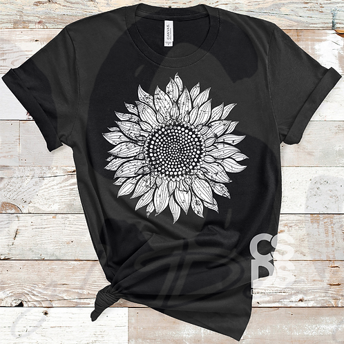Distressed Sunflower