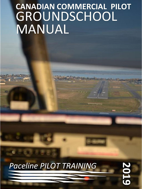 COMMERCIAL PILOT GROUNDSCHOOL MANUAL (Paper)