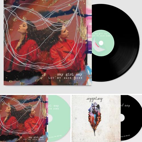TRIPLE-SAY BUNDLE - LMHD VINYL / LMHD CD / SGS CD