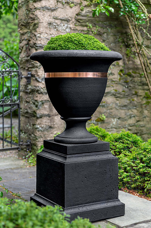 Classic Copper Banded Urn, Large