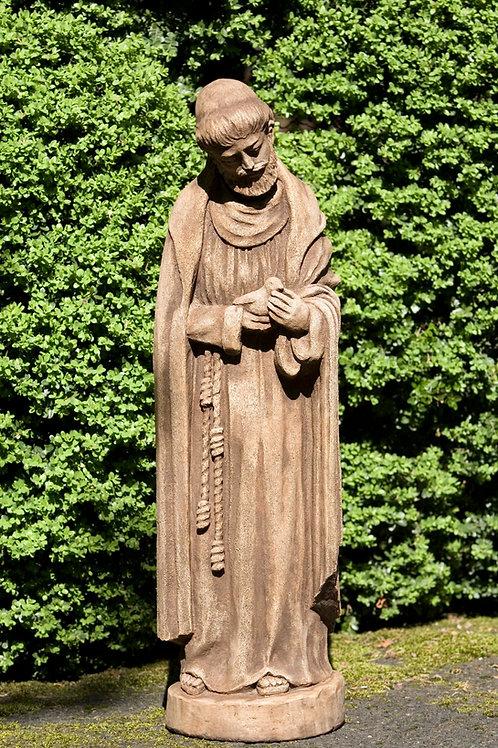 St Francis w/baby bird