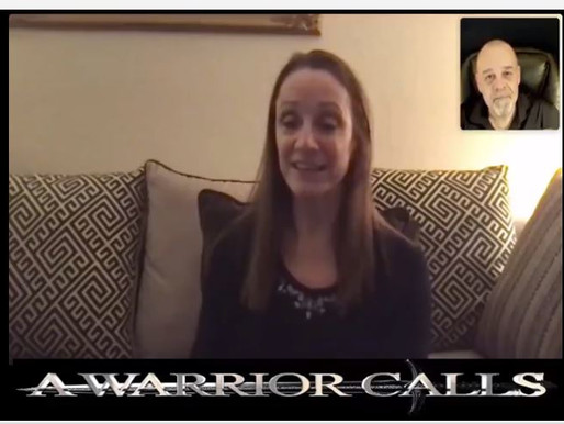 Maria Strollo Zack interview on A Warrior Calls, 2.11.21