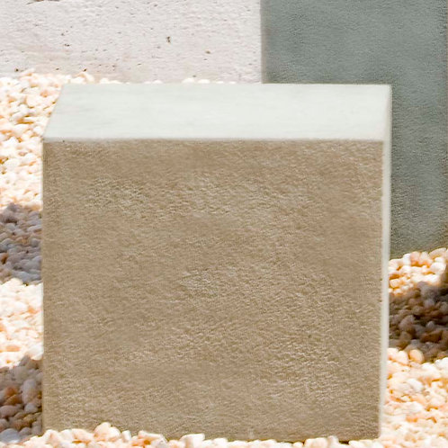 Short Square Textured Pedestal