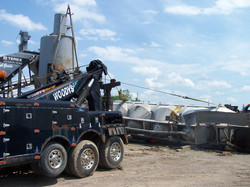 Semi Towing Recovery