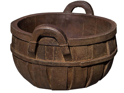 Apple Basket Planter, Small