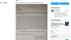Lara Logan's Tweet 1-7-2021Lara Logan's Tweet of Affidavit: (showing the tweet from her twitter acc