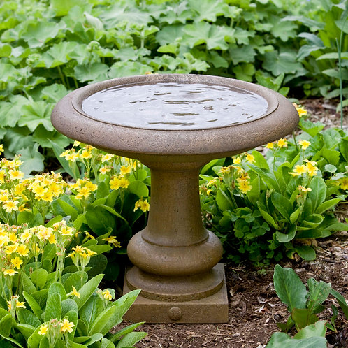 Williamsburg Summer House Birdbath