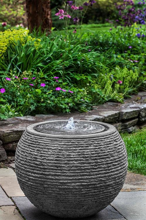 Sonora Large Fountain - Black Stone Ledge - S/1