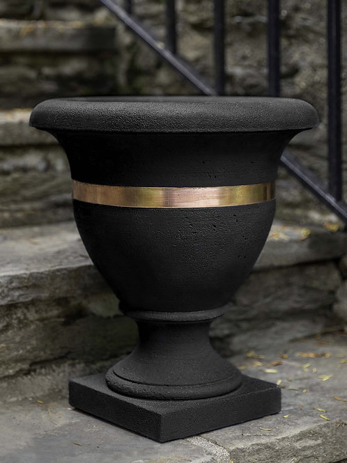 Classic Copper Banded Urn, Small