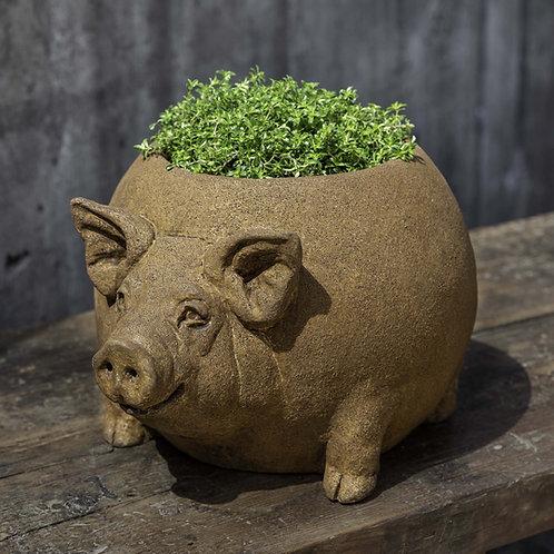 Roly Poly Pig Planter