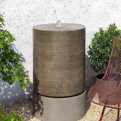 Lg Ribbed Cylinder Ftn