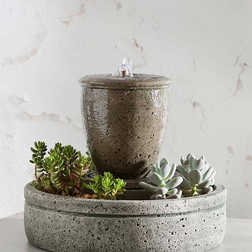 M-Series Rustic Spa Fountain w/ Planter