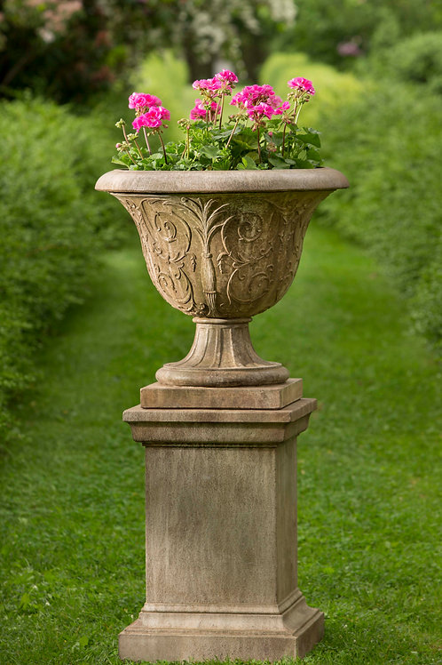 Palais Arabesque Urn with Pedestal