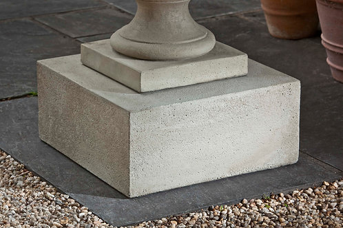 Textured Low Sq Pedestal