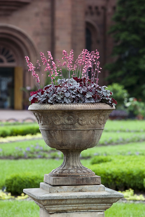 Smithsonian Foliated Scroll Urn