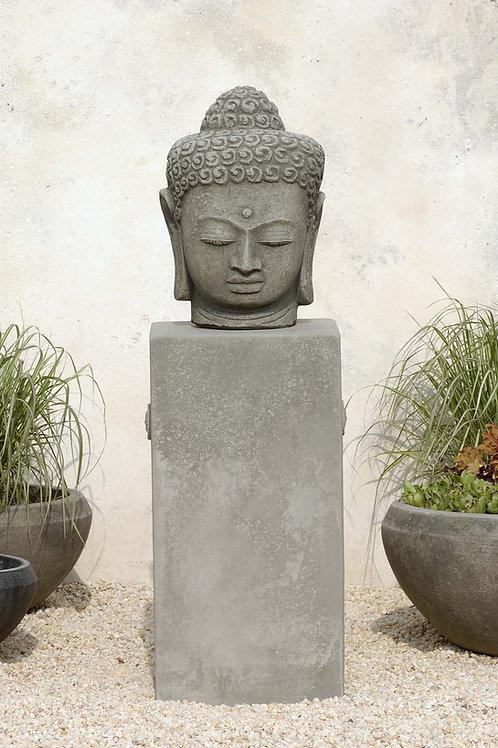 Antique Buddha Head Large