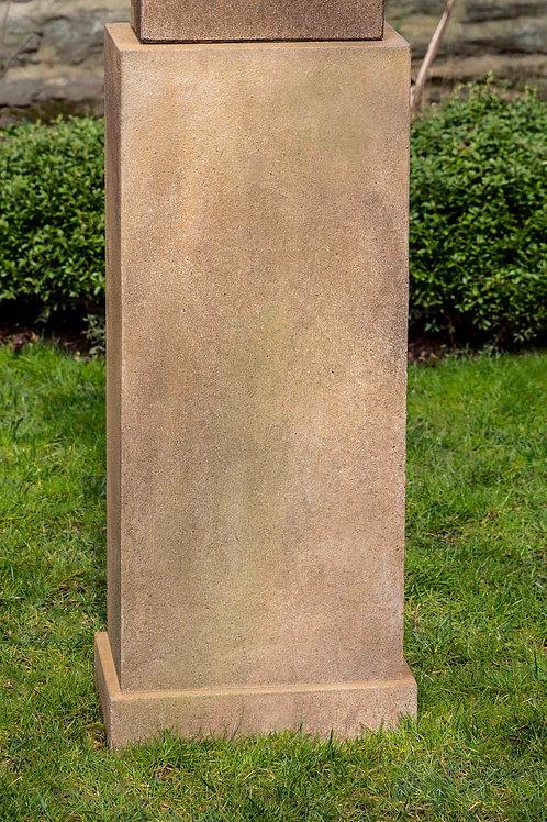 Rectangular Tall Pedestal