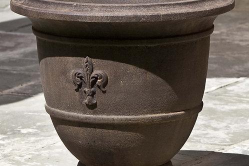 Fleur de Lis Small Urn