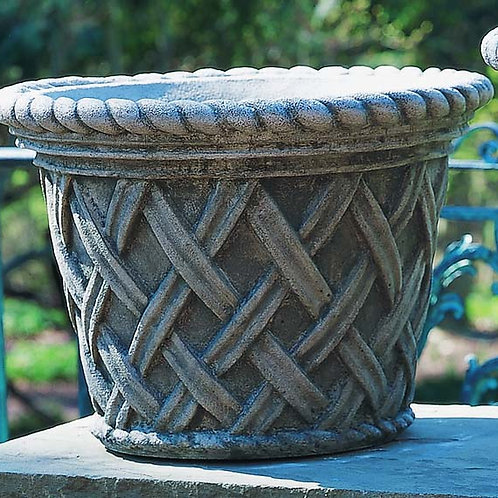 English Weave Medium Planter