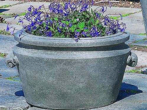 Scroll Handle Tub Planter