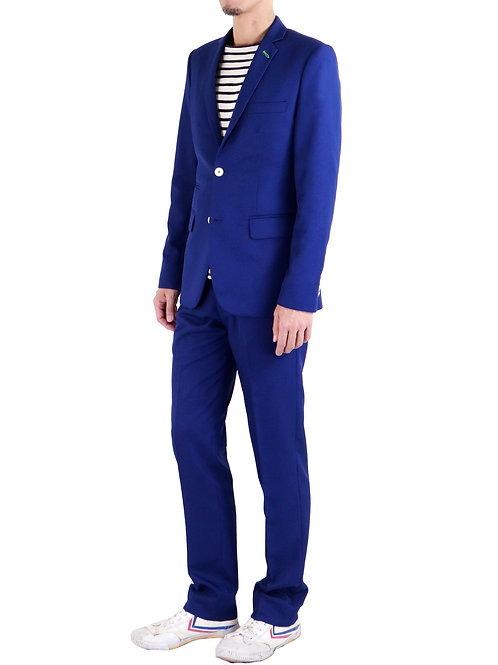 Cobalt Blue Slim-Fit Suit