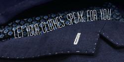 Let your cloths speak for you