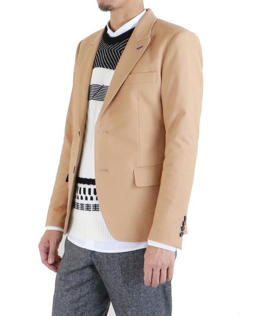 Visage Khaki Slim-Fit Travel Suit Blazer | JUNE WOONAMY | Bespoke ...