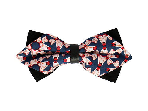 Badminton Pop-art Print Bow Tie