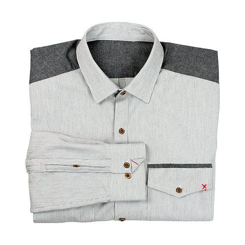 Japanese Yard-dyed Cotton Utility Shirt