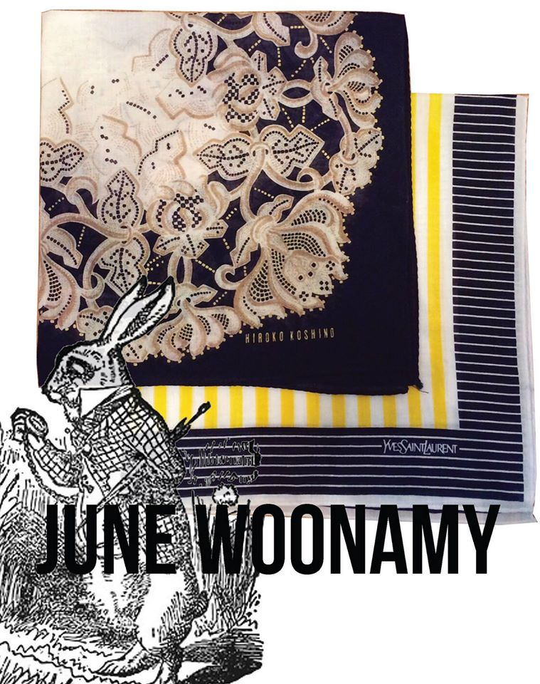 JUNE WOONAMY - Fabric Designs
