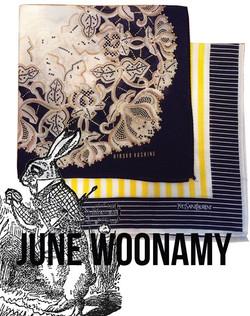 JUNE WOONAMY - Fabric Designs