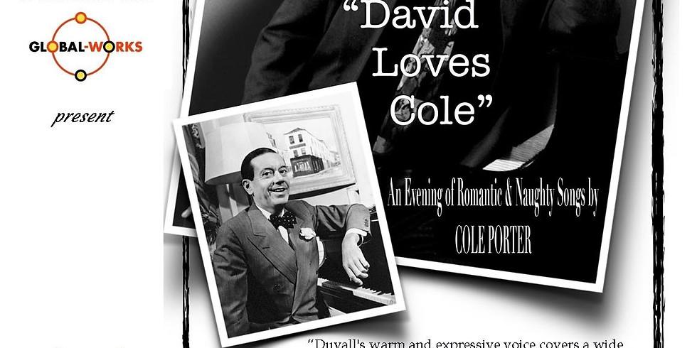 "The David Duvall Trio performing ""David Loves Cole"""