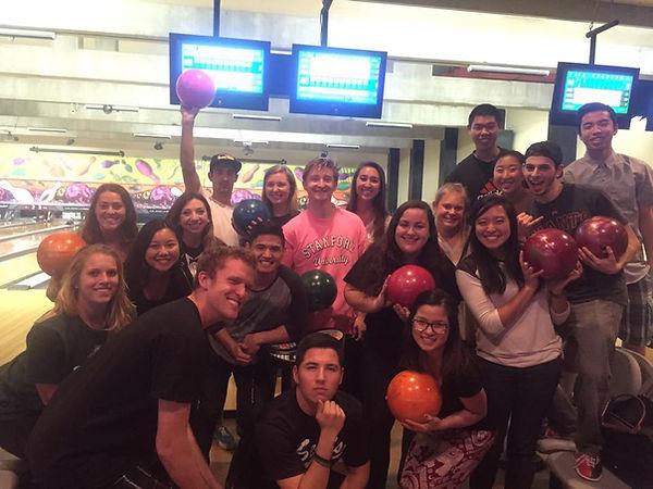 CPAC enjoying bowling at Mustang Lanes