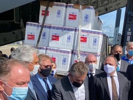Governo Federal distribui 6 milhões de doses de Vacina contra covid 19