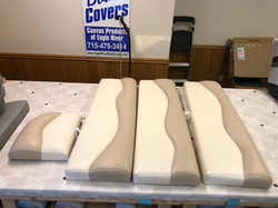 Canvas Products Company of Eagle River Cindy Covers It Custom Boat Covers and Awnings Boat Interiors