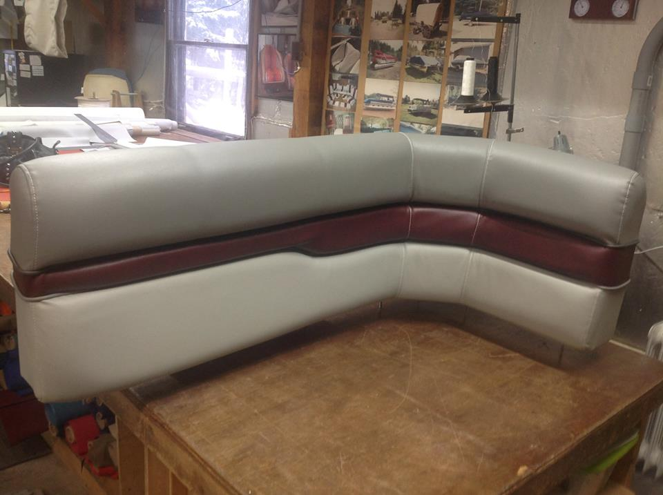 Cindy Covers It Canvas Products Company of Eagle River Custom Boat Covers and Awnings Boat Interiors