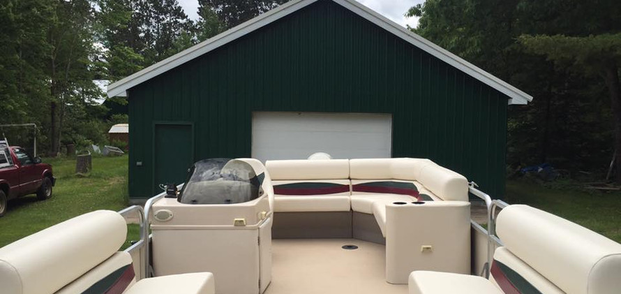 Canvas Products of Eagle River Pontoon F