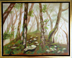 In_the_forest(45x55)_Öl