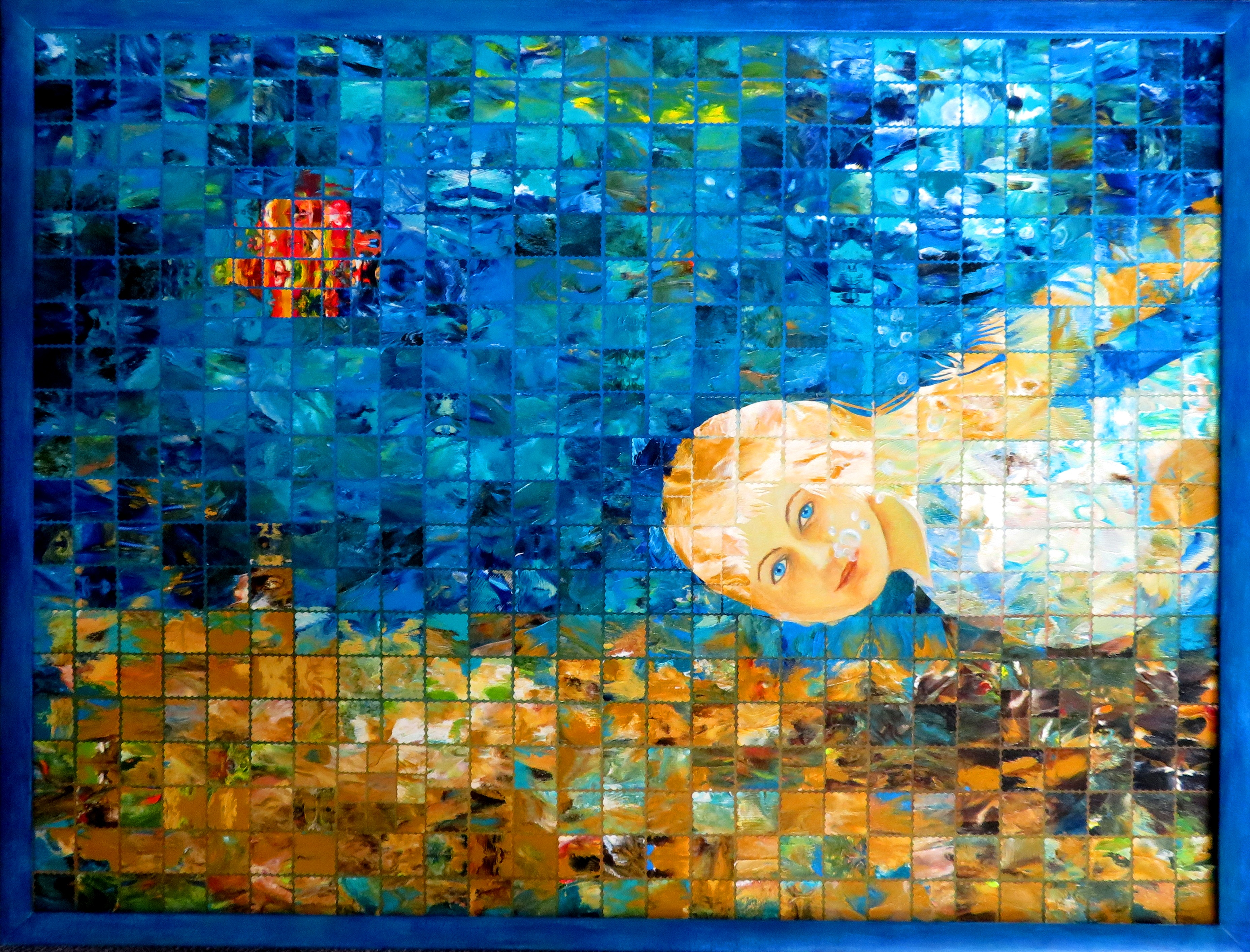 Abgetaucht- Triptychon (64x35) (2)