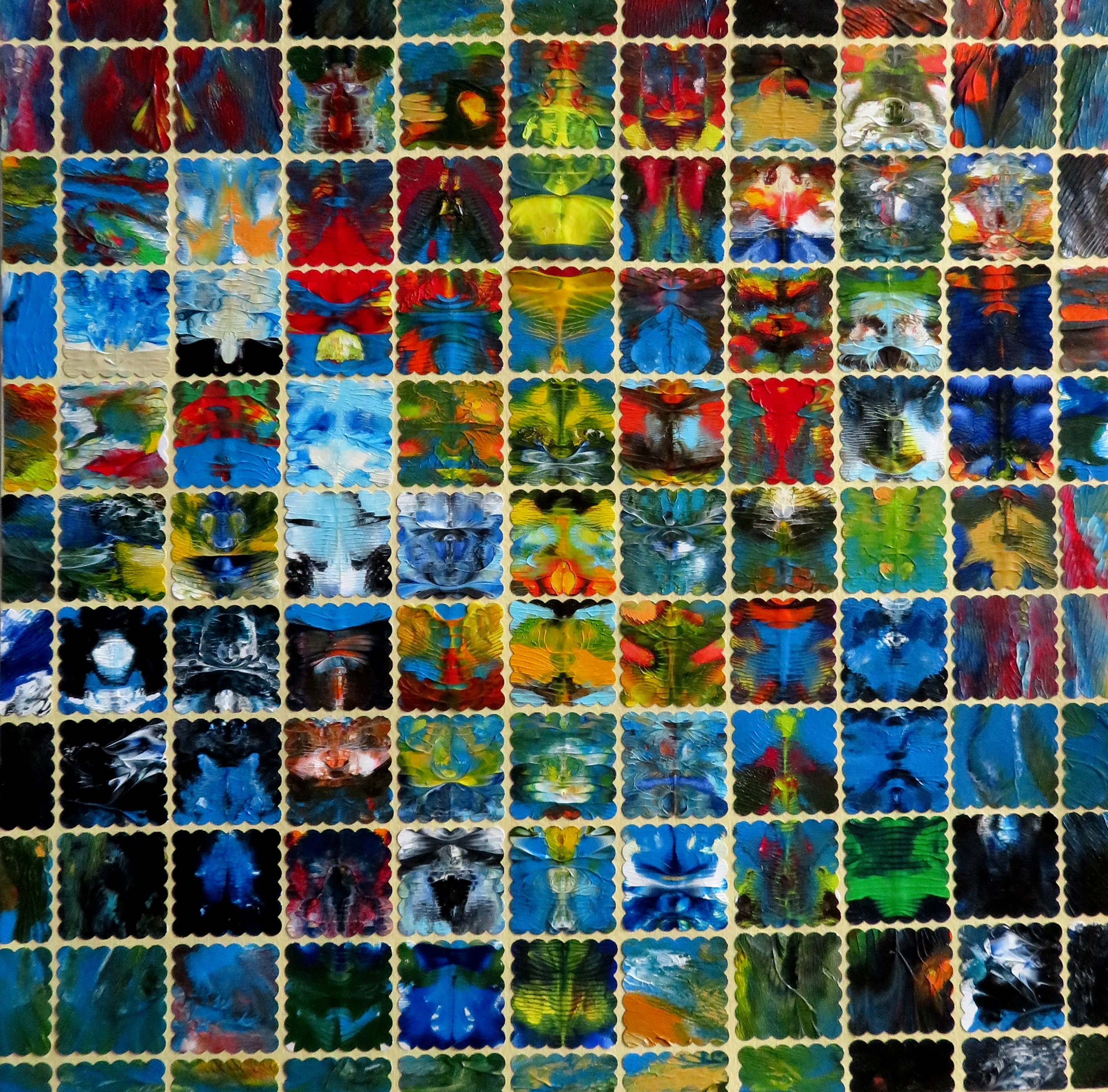 Mosaik III (30x30)Art in Art