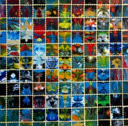 Mosaik III (30x30)Art in Art