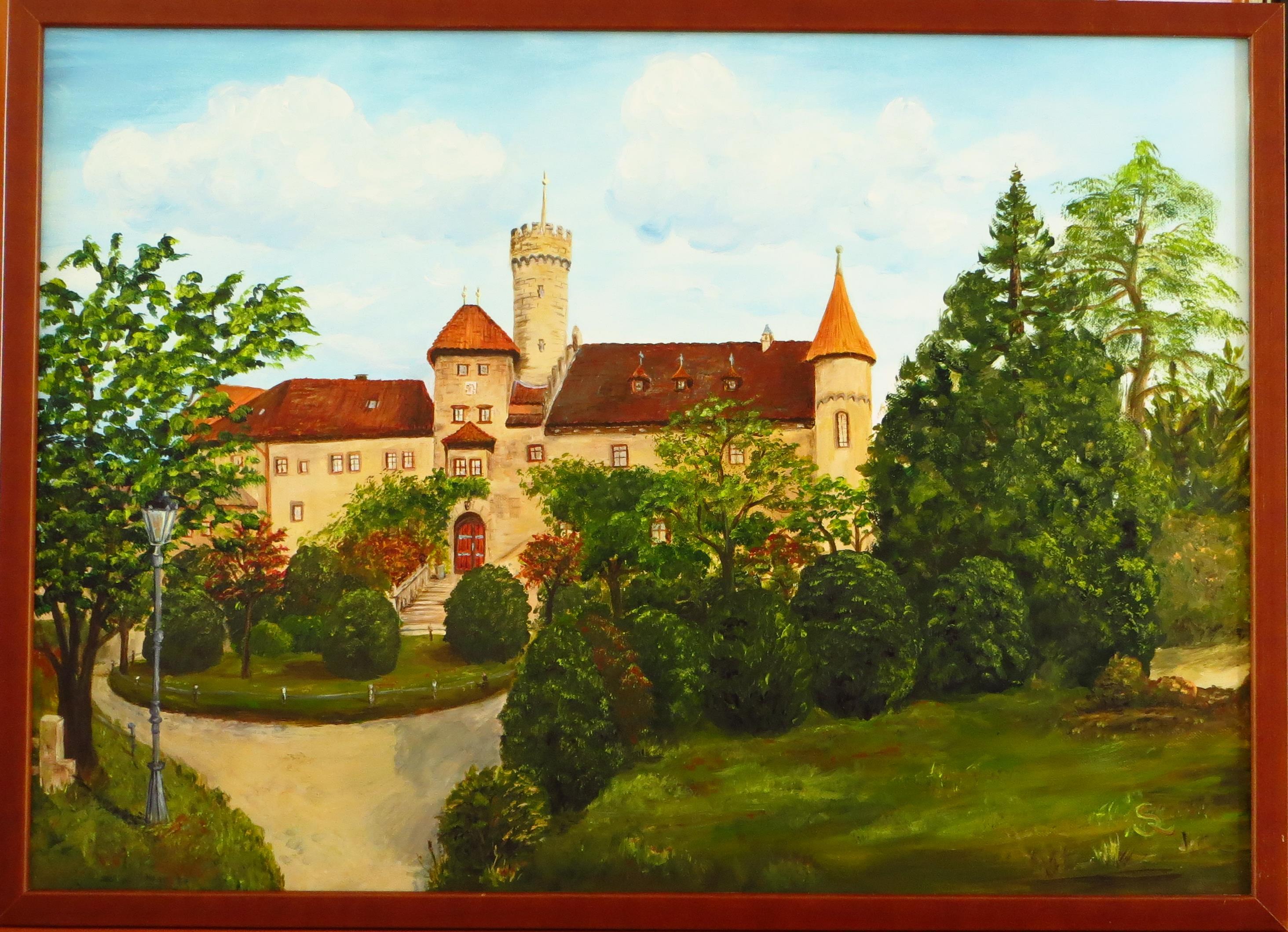 Schloss Hohenstein (70x50 Acryl)