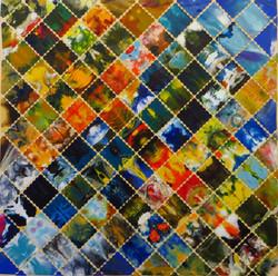 Mosaik II (30x30) Art in Art