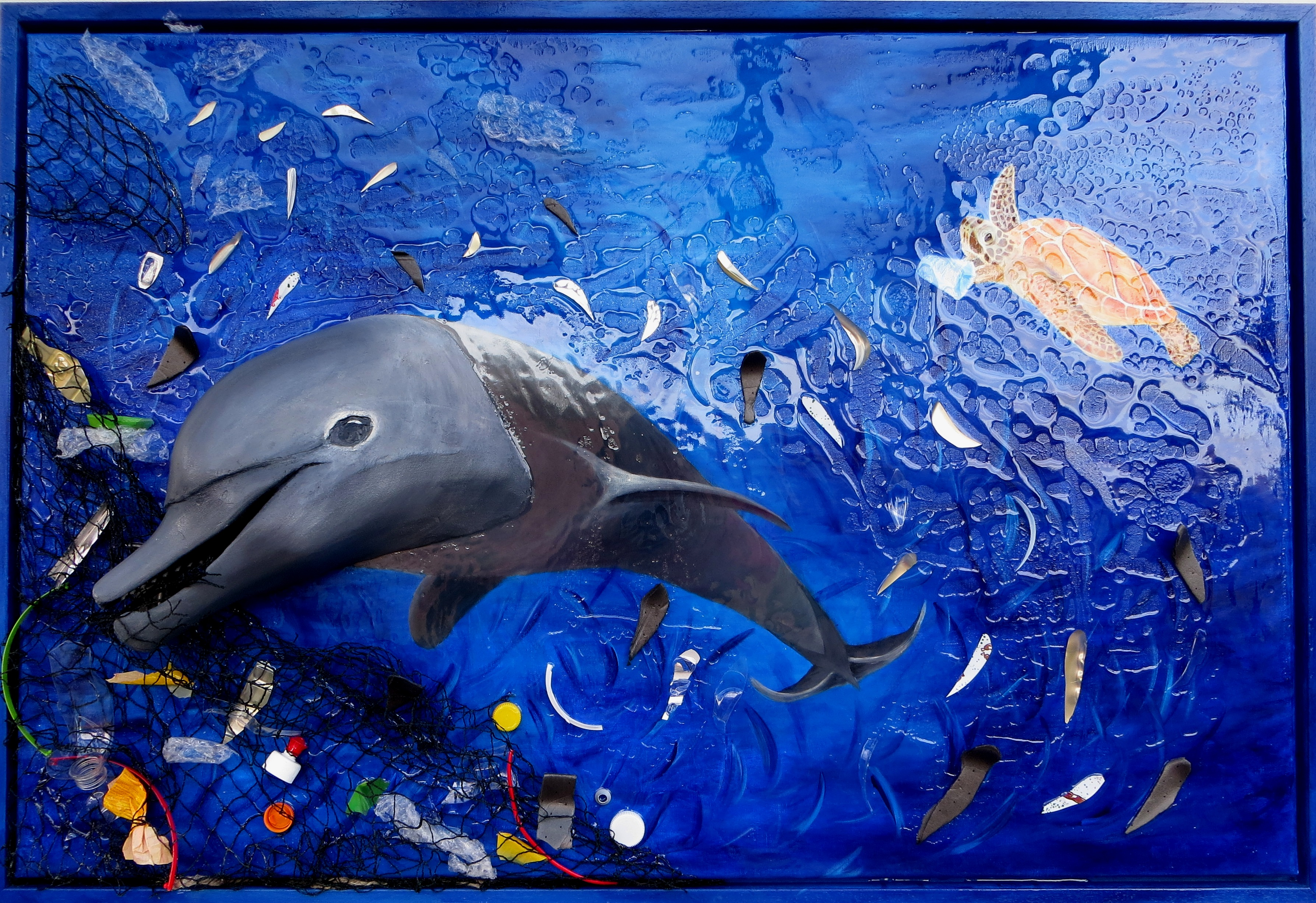 Sterben die Meere- sterben auch wir (85x