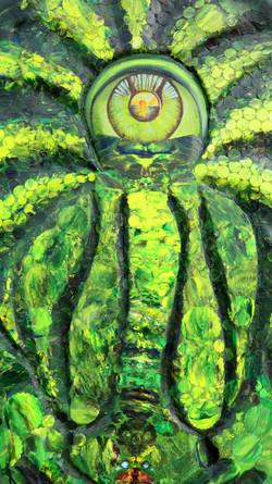 Mutter Natur (110x120x6) Art in Art