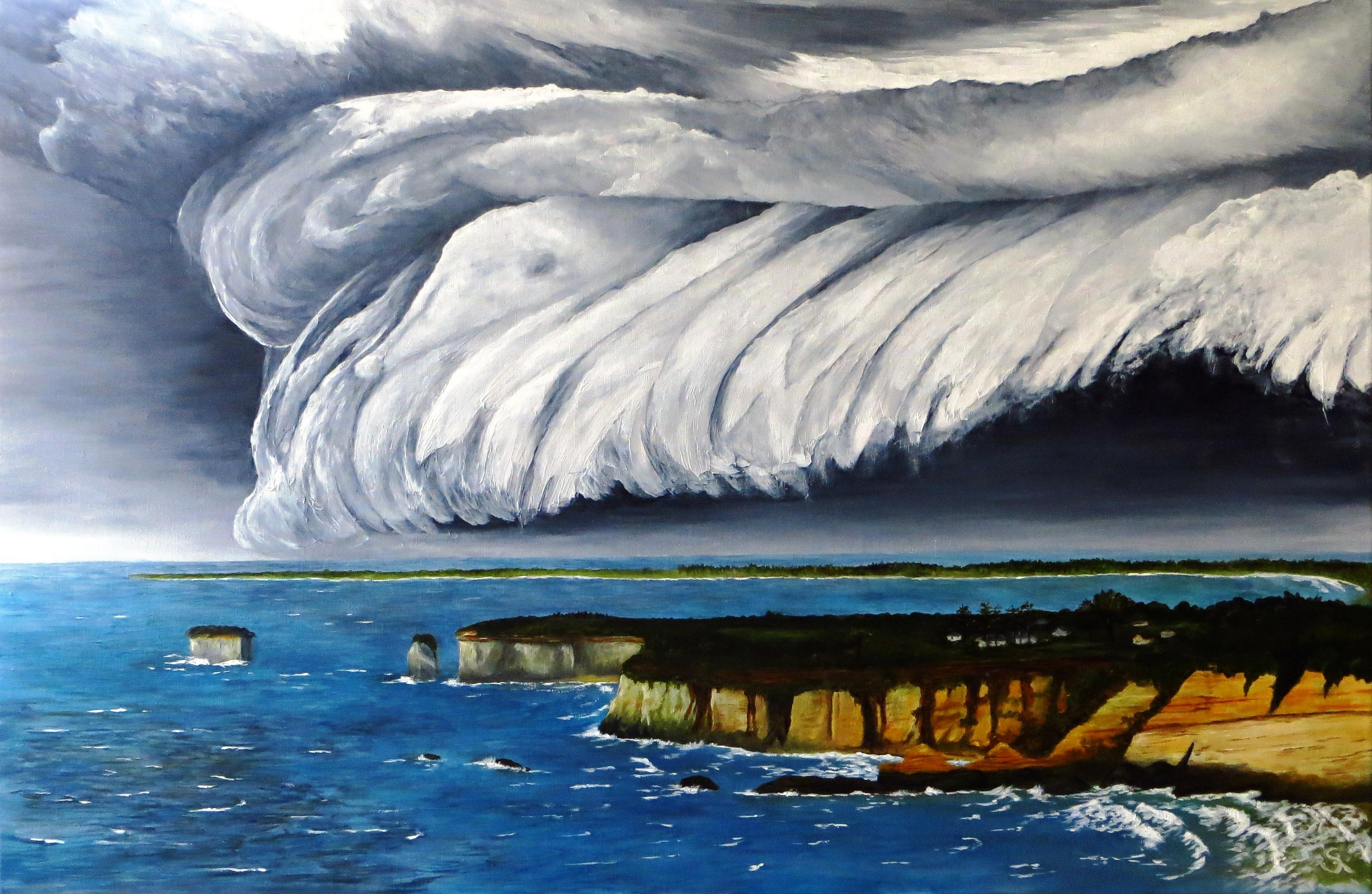 Ein_Sturm_zieht_auf_über_Cape_Foulwind__