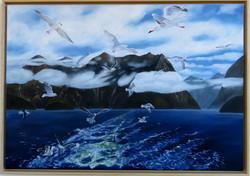 Doubtful Sound (70x100) Öl