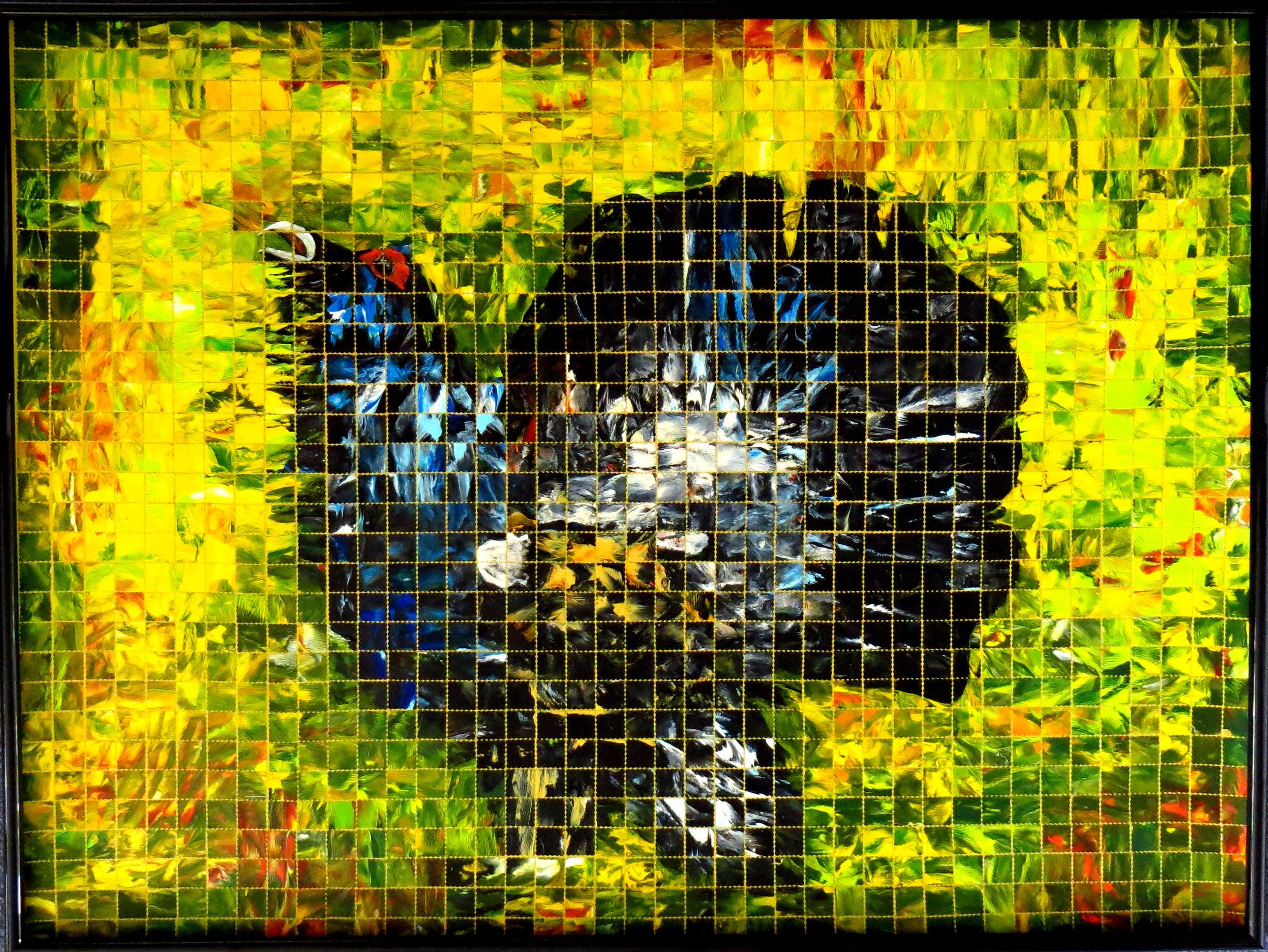 Balzender Auerhahn (60x80) Art in Art